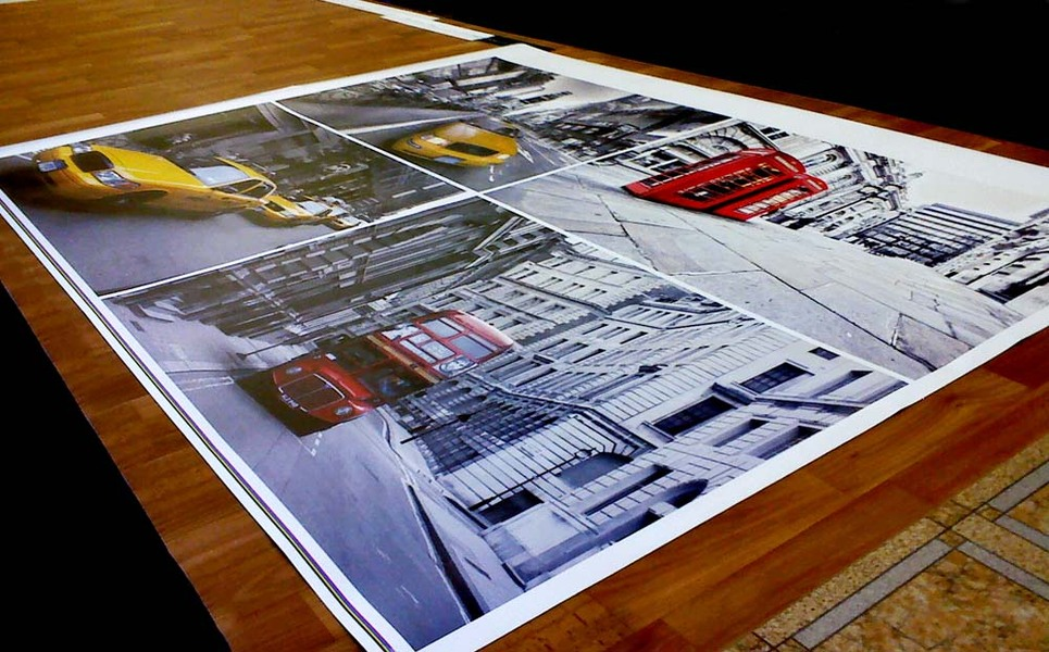 печать постеров на фотобумаге терраса натуральной