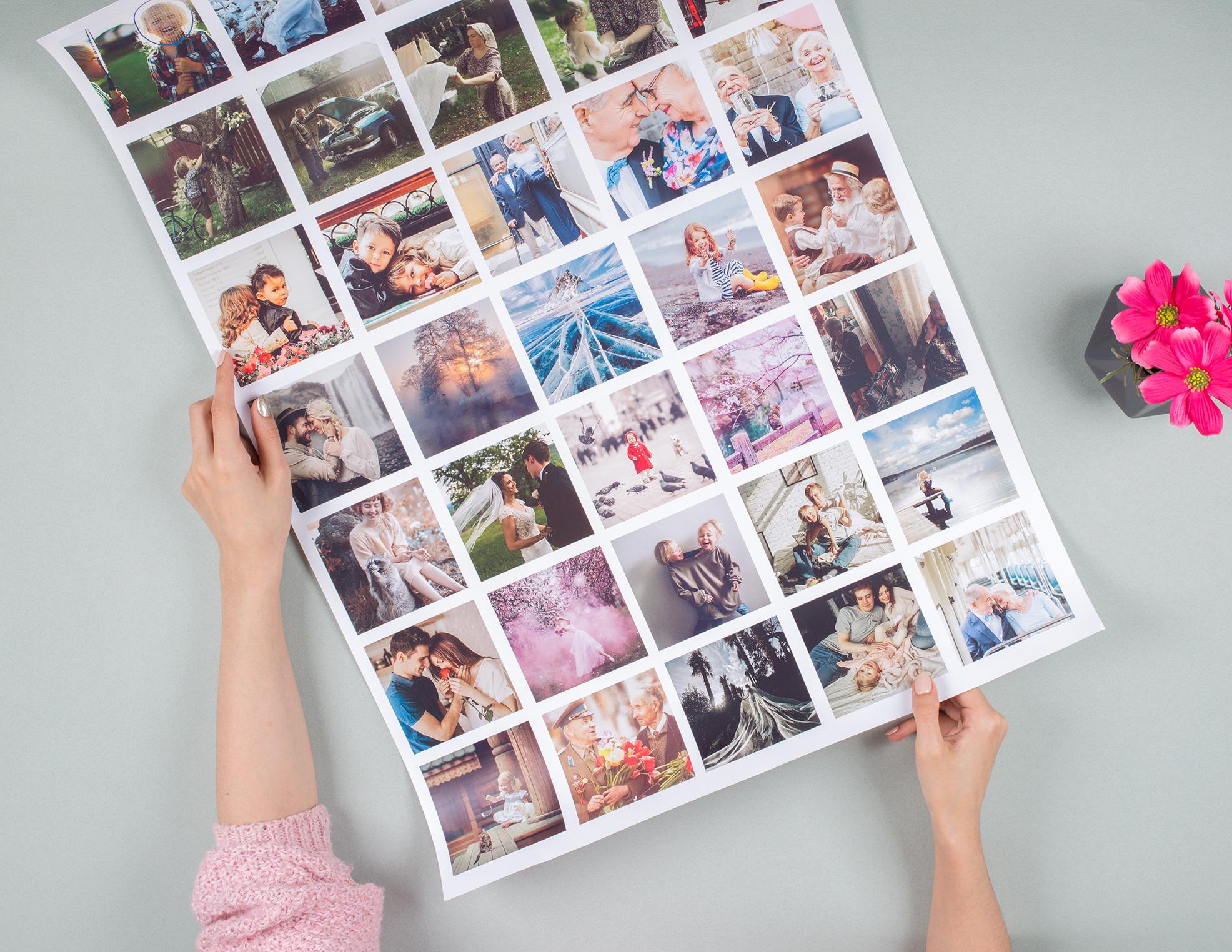 идеи распечатки фотографий посещения гостиного двора